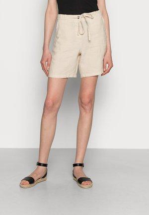 STRAIGHT FIT MEDIUM RISE REGULAR LEG  - Shortsit - summer taupe