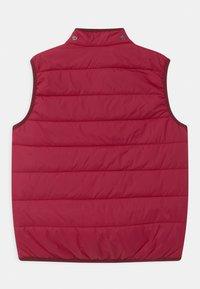 Finkid - VANULI UNISEX - Waistcoat - persian red - 2