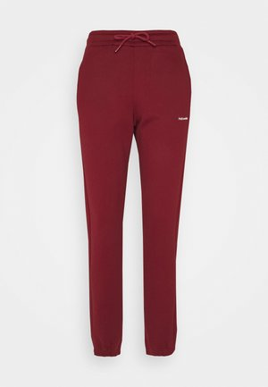 GABBY TROUSER - Tracksuit bottoms - burgundy