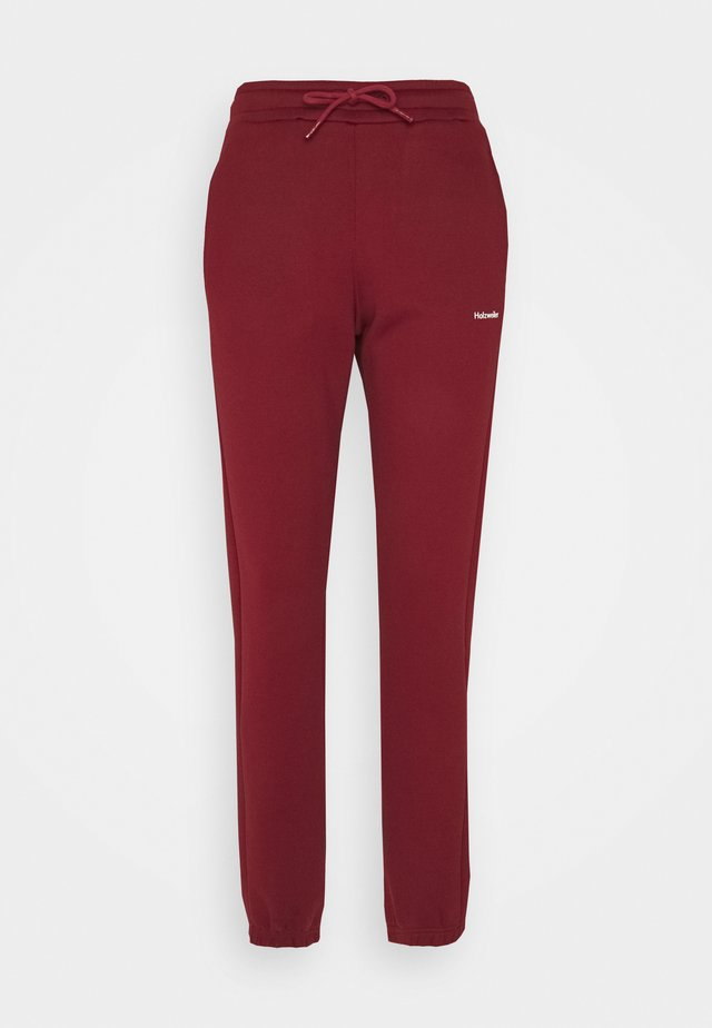 GABBY TROUSER - Trainingsbroek - burgundy