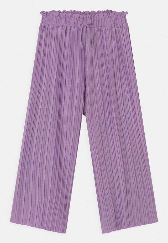 PLISSEE-CULOTTE TEENAGER - Trousers - vintage lilac