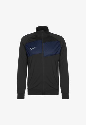 DRY ACADEMY PRO - Training jacket - anthracite / obsidian / white