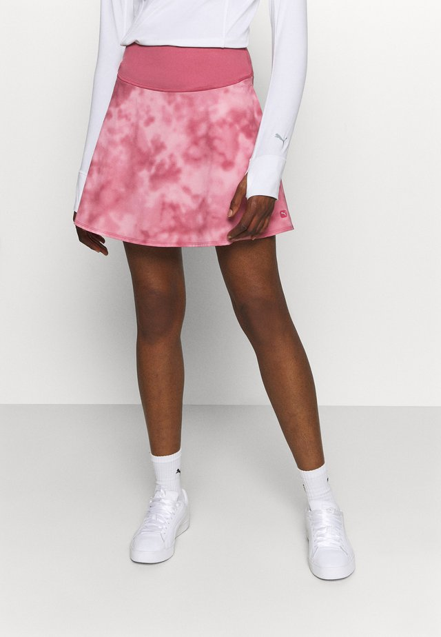 TIE DYE SKIRT - Urheiluhame - rose wine