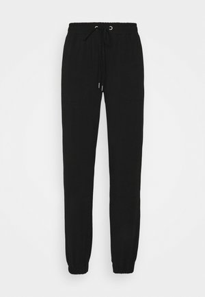 DANA LINDA PANTS - Tracksuit bottoms - black deep