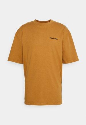 LOGO OVERSIZED TEE UNISEX - Basic T-shirt - washed ginger