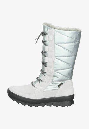 Winter boots - aluminio/grau