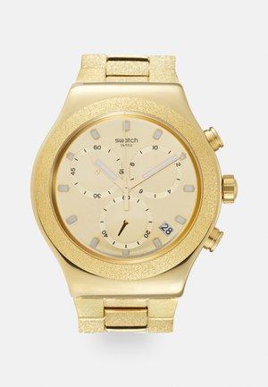 IRONY GOLDSHINY - Chronograph watch - gold-coloured