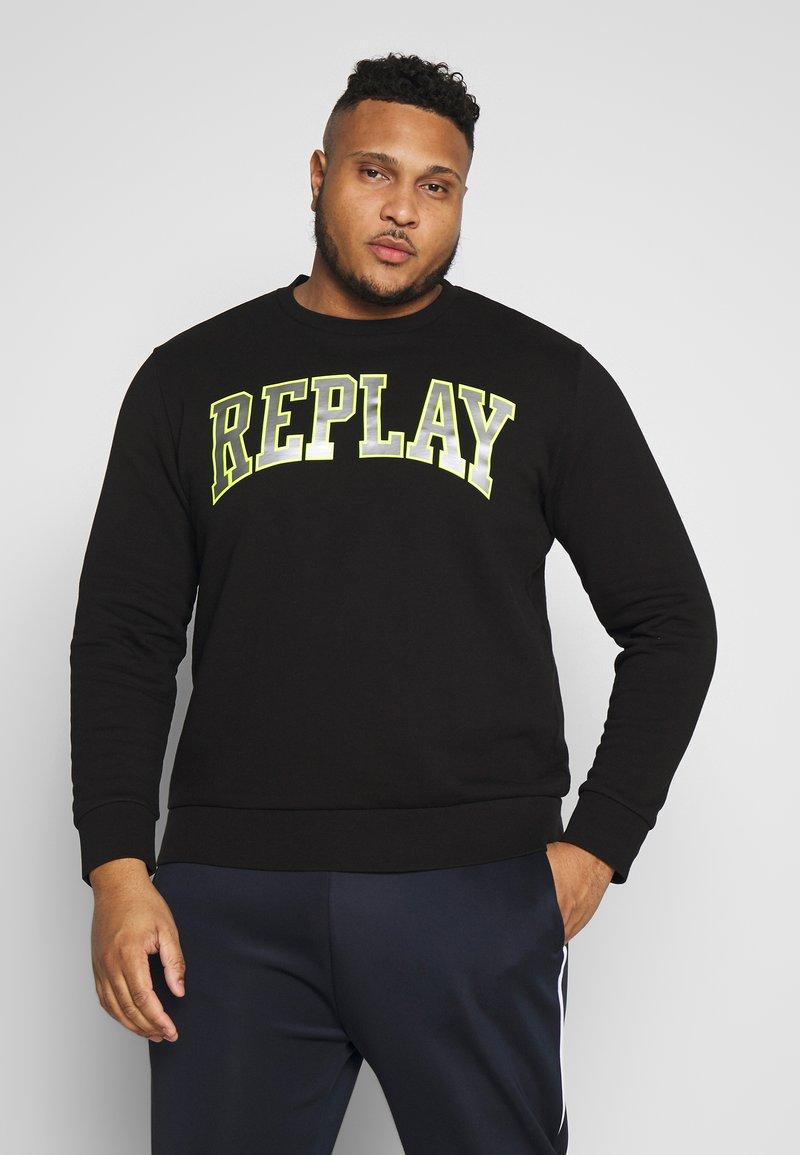 Replay Plus - Sweatshirt - black