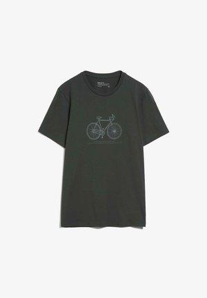 T-shirt basic - dark pine