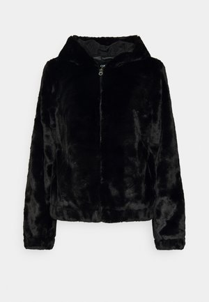 ONLMALOU HOOD JACKET - Winterjas - black