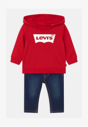 HOODIE SET - Sweater - red