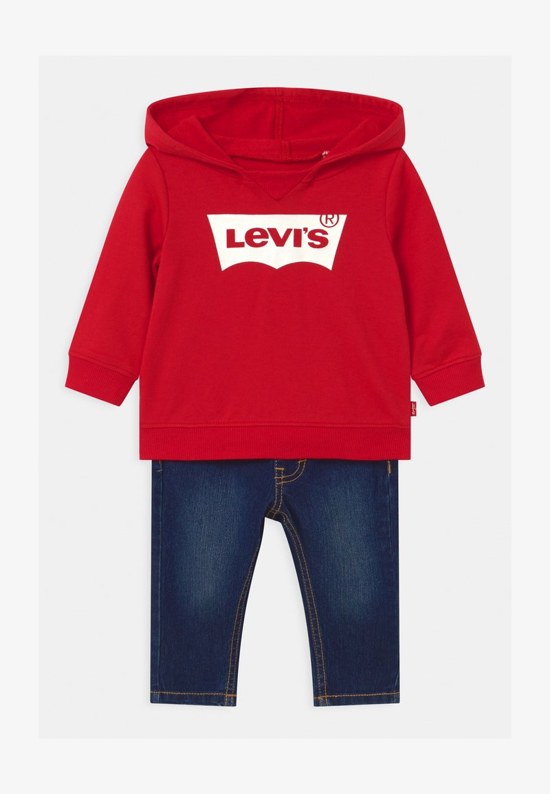 Levi's® - HOODIE SET - Sweater - red