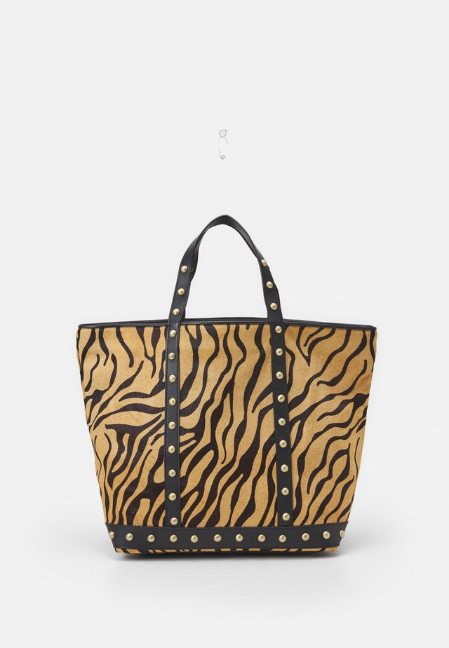 EXCLUSIVE CABAS MOYEN GRAND - Shopping bag - brown