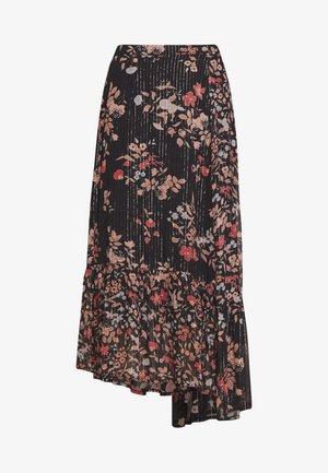 CLEO SKIRT - Áčková sukně - black jasmine
