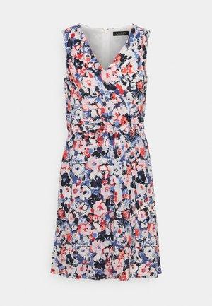 ELNA SLEEVELESS DAY DRESS - Sukienka letnia - light navy/pink/multi