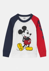 Levi's® - MICKEY MOUSE RAGLAN UNISEX - Long sleeved top - white - 0