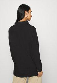 Noisy May - NMFLANNY LONG SHACKET - Skjorte - black - 2
