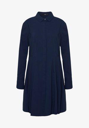 EXCLUSIVE BLOUSE DRESS - Shirt dress - navy