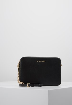 JET SET TRAVEL CROSSBODY - Olkalaukku - black