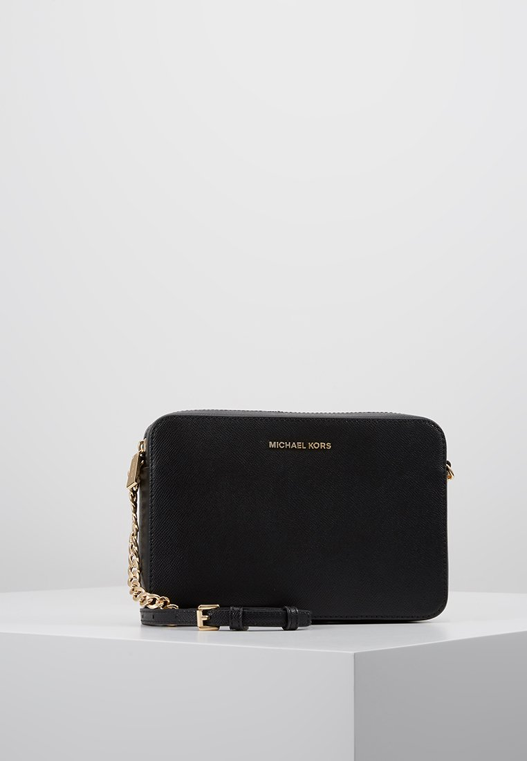 MICHAEL Michael Kors - JET SET TRAVEL CROSSBODY - Torba na ramię - black