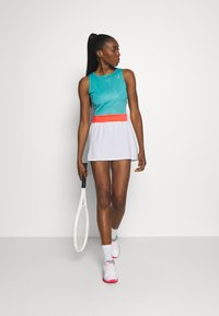 ASICS - TENNIS DRESS - Jersey dress - techno cyan - 1