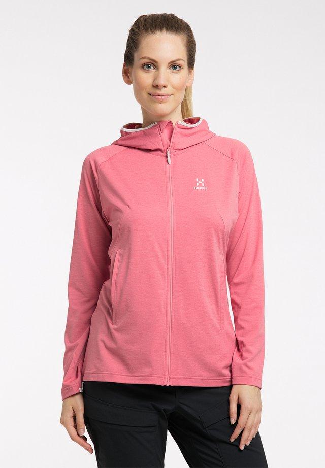 MIRRE  - Fleece jacket - tulip pink
