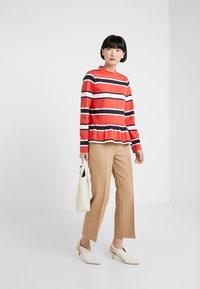 Libertine-Libertine - WAKE - Long sleeved top - red stripe - 1