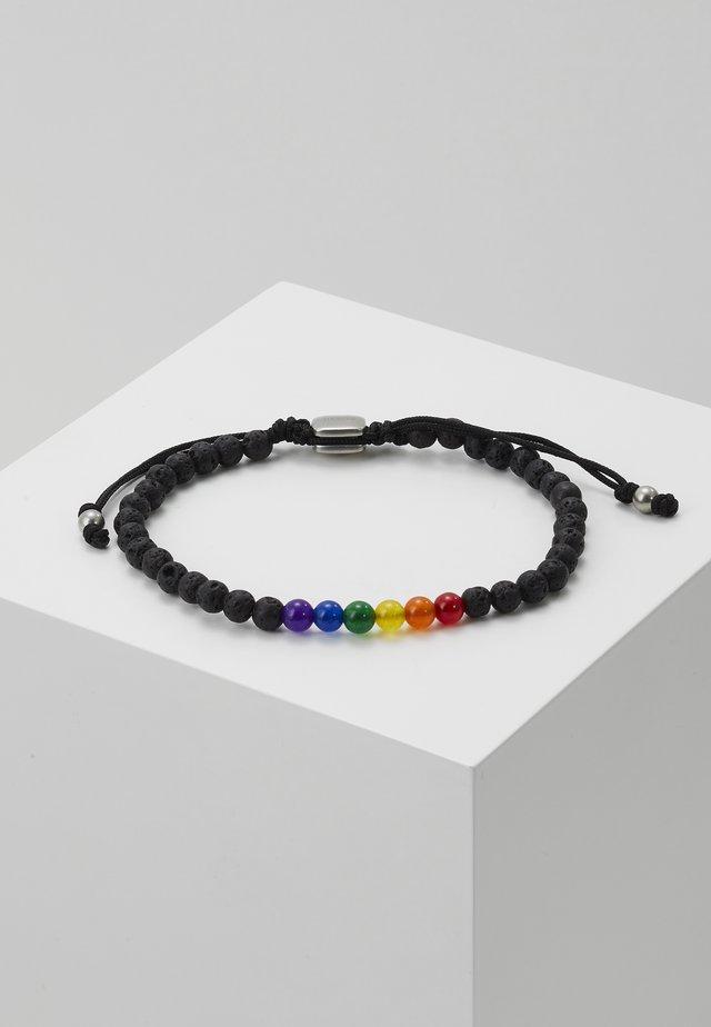 VINTAGE CASUAL - Náramek - black/multi-coloured