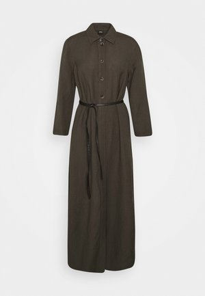 Maxi dress - dark khaki green