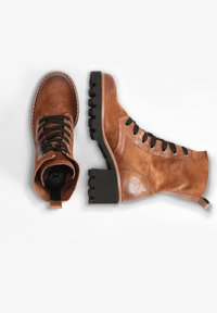 Paul Green - Lace-up ankle boots - cognac-braun 007 - 2