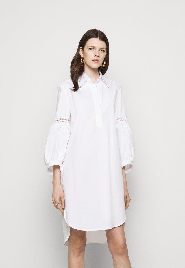 Blusenkleid - white