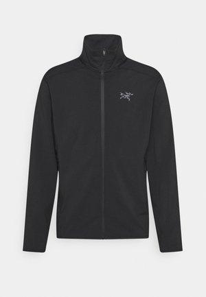 KYANITE LT JACKET MENS - Fleece jacket - black