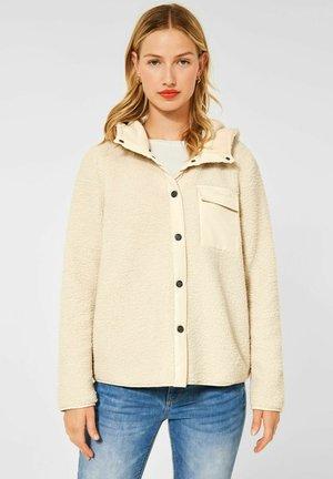 MIT KAPUZE - Winter jacket - beige