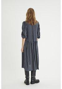 InWear - VIKSA LONG DRESS - Day dress - marine blue stripe - 1