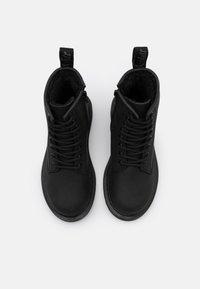 Dr. Martens - 1460 SERENA MONO REPUBLIC WP - Lace-up ankle boots - black - 3