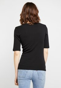 Opus - DAILY  - Basic T-shirt - black - 2