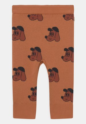 DOG BABY PANT UNISEX - Pantalon classique - true brown/dark copper