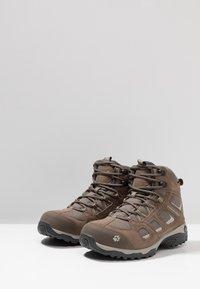 Jack Wolfskin - VOJO HIKE 2 TEXAPORE MID - Hiking shoes - siltstone - 2
