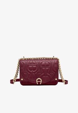 Across body bag - burgundy