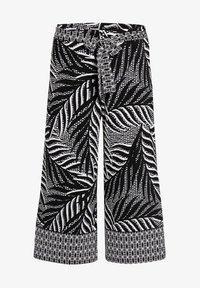 Joseph Ribkoff - Trousers - black/vanilla - 0