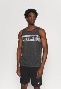 Nike Performance - TANK - Top - black - 0
