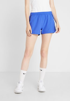 TENNIS SHORT - Sports shorts - obscurity/navy blue/lemon