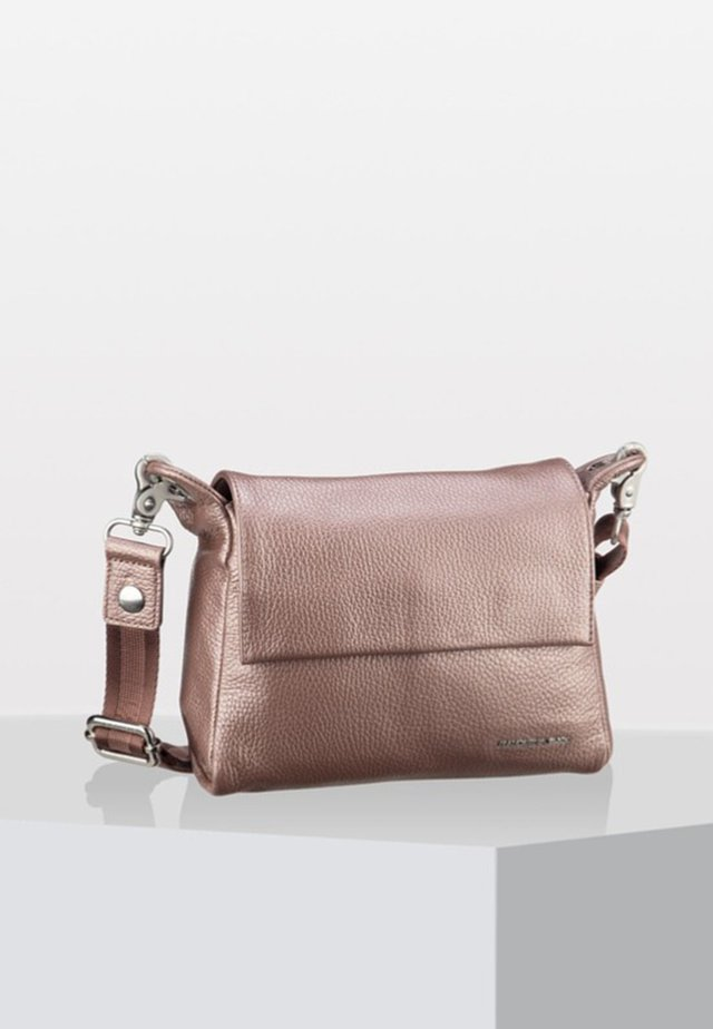 LUX CROSSOVER - Across body bag - light pink