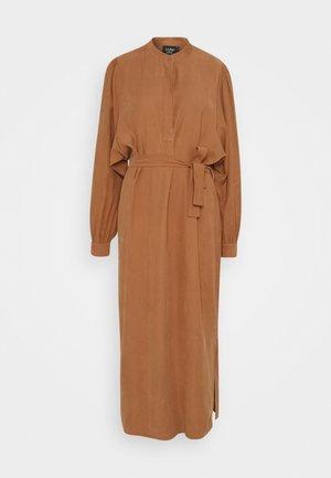 SHIKI DRESS - Shirt dress - cinnamon