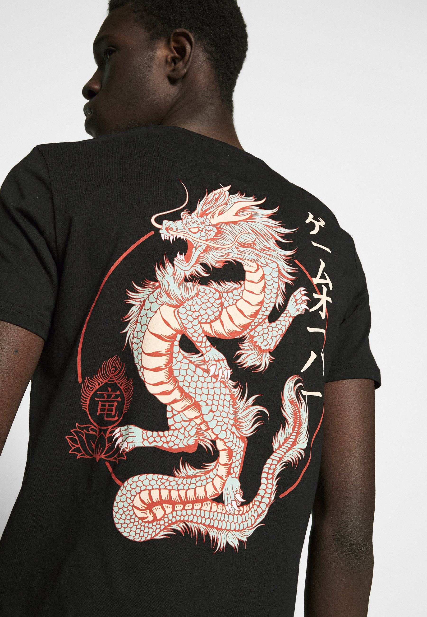 Yourturn T-shirts Med Print - Black
