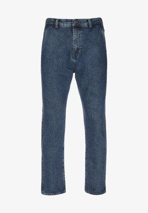 Straight leg jeans - blue marble light stone