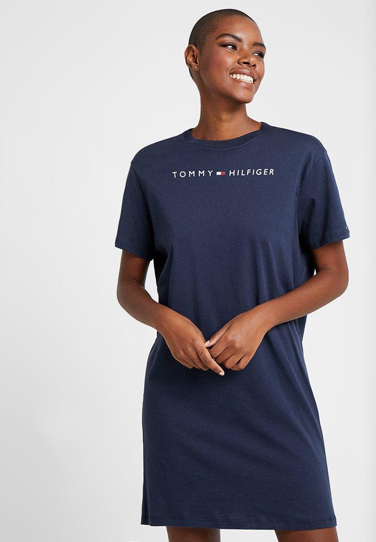 Tommy Hilfiger - DRESS HALF SLEEVE - Nightie - navy blazer