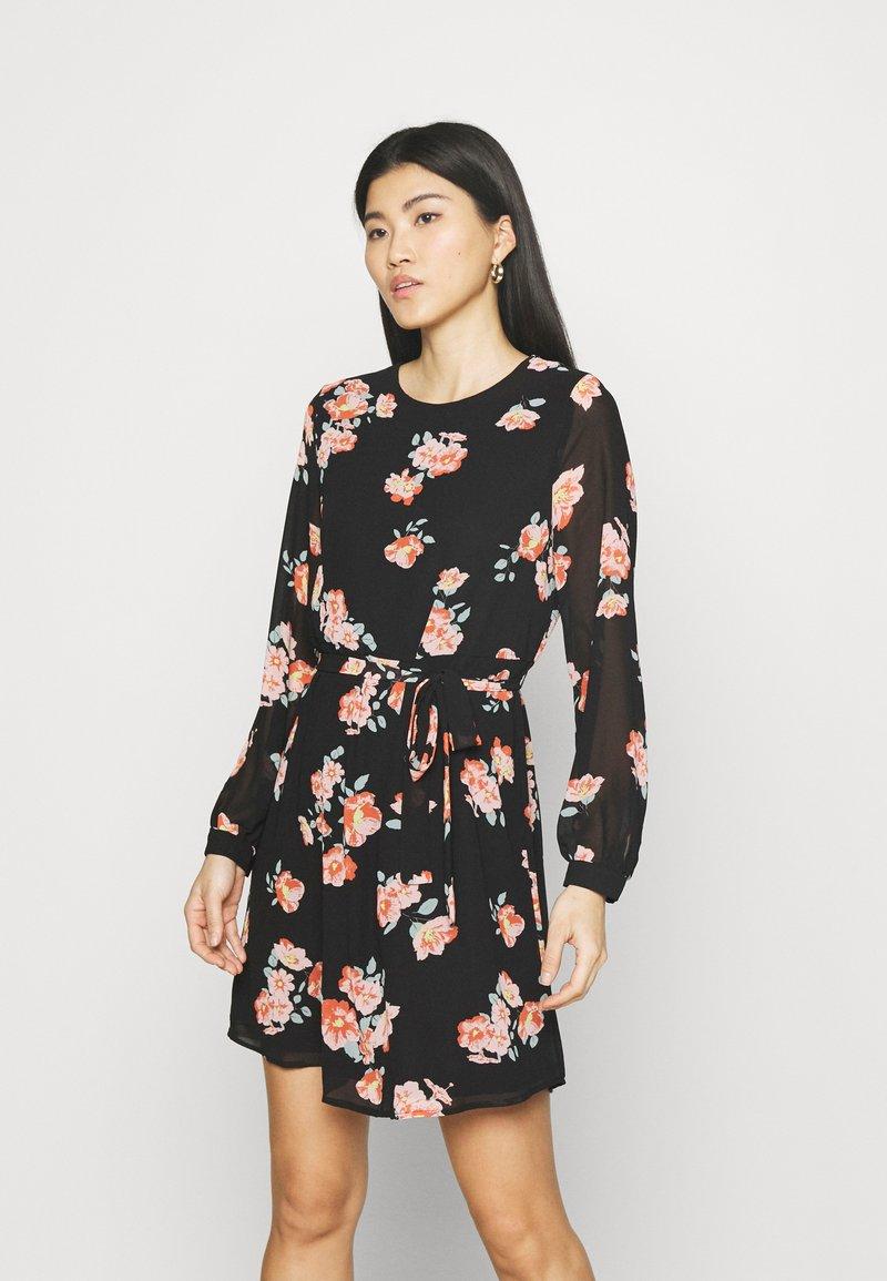 Anna Field - Day dress - black/pink