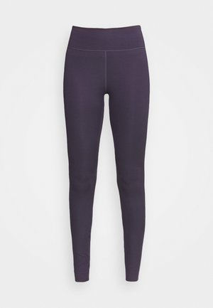 ONE LUXE - Tights - dark raisin
