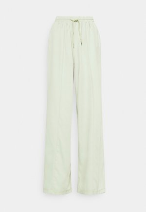 WIDE LEG TROUSER - Trousers - sage